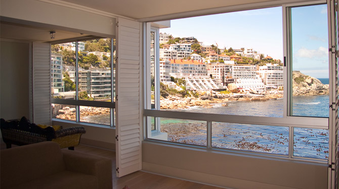Superb views over the Ocean at this Holiday Apartment in Bantry Bay