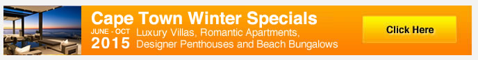 Winter Accommodation Specials in Cape Town