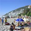 Clifton Beach on the Atlantic Coast of Cape Town