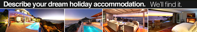 your dream holiday accommodation in Cape Town and Camps Bay