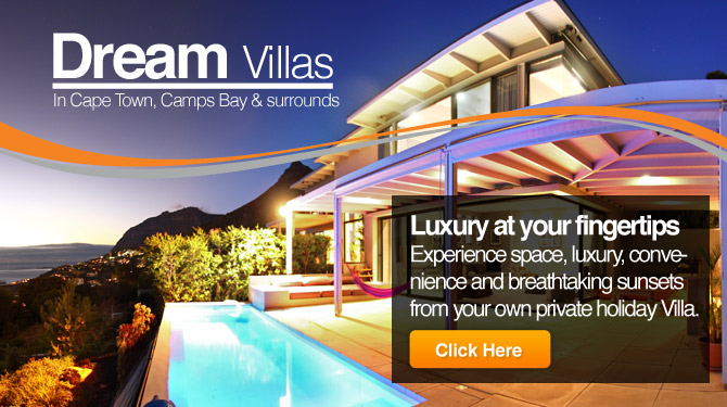 Villas in Camps Bay, Clifton or Bantry Bay