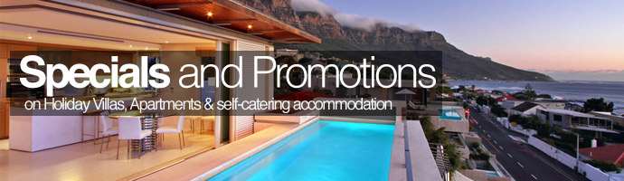 Cape Town and Camps Bay Holiday Accommodation Specials