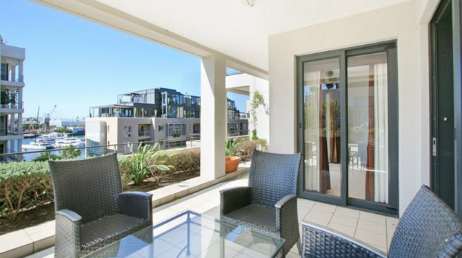 Waterfront Marina Holiday Apartment Rental in Cape Town